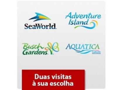 Seaworld Orlando - Dois parques à sua escolha + 1 Grátis - Acima de 3 anos (Ingresso Voucher Promocional)