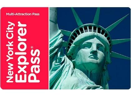 New York Explorer Pass - 3 atrações