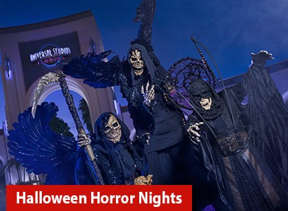 Halloween Horror Nights - Flex Ticket - 2 noites à sua escolha (Ingresso Eletrônico)